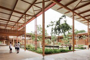 Здание бразильской школы признали лучшим в мире