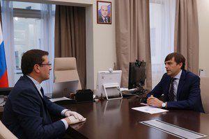 Сергей Кравцов обсудил с главой Нижегородской области строительство в регионе новых школ в рамках нацпроекта «Образование»