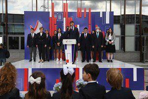 Сергей Кравцов поздравил с Днём знаний учеников и учителей одной из подмосковных школ