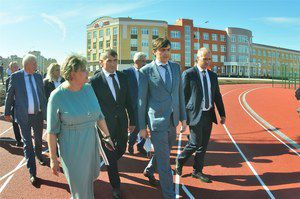 Сергей Кравцов открыл новую школу в Чувашии