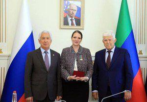 Екатерина Толстикова приняла участие в педагогической конференции в Республике Дагестан