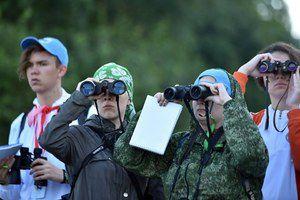 В России проходит третий Всероссийский слёт юных туристов
