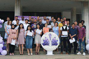 В УлГПУ имени И.Н. Ульянова состоялся выпуск подготовительного отделения для иностранных граждан